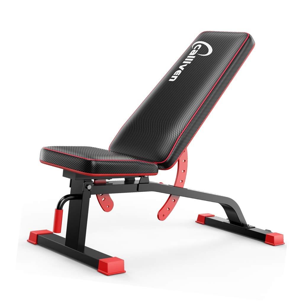 トレーニングベンチ 調節可能な重量ベンチ ホーム仰向けボード 耐荷重600kg 腹筋ボード 体操用具 筋力トレーニング (Color : 黒, Size : 57*121*46cm) 黒 57*121*46cm