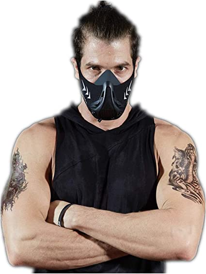 Fitness Training Face Mask Cardio High Altitude Running Gym Workout Sport Mask