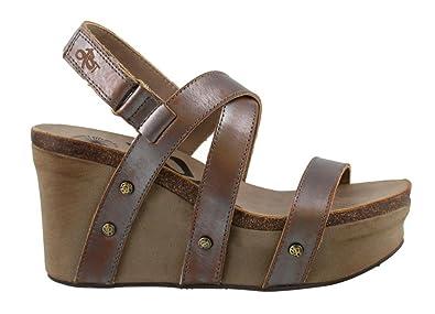 OTBT Sail Women's Sandal 6 B(M) US Pewter