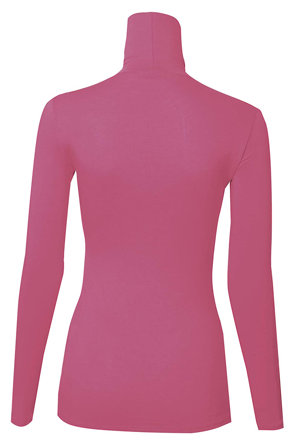 PINMUSE Women s Long Sleeve Quality Turle Neck Top Pullover Made in USA S  to 3XL at Amazon Women s Clothing store  1b3f56240