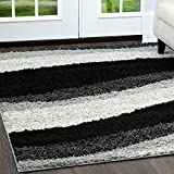 Home Dynamix NMSynergy-8ftx10ft-S1005-14 Nicole Miller Synergy Blaise Area Rug, Gray/White
