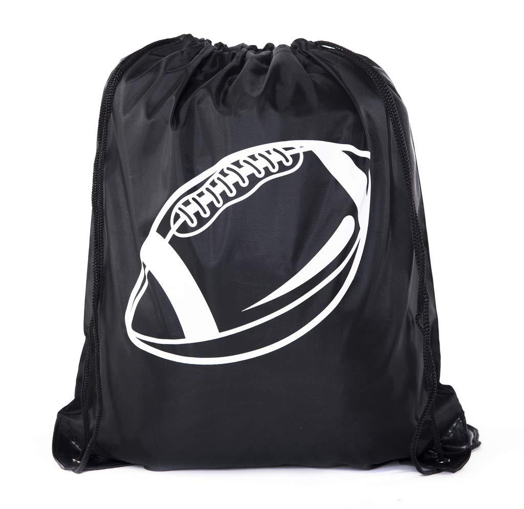海外最新 Mato & Hash 子供用グッディーバッグ Hash 1 巾着式ギフトバッグ ロゴ入り 誕生日 パーティーなどに Bag B013H48PO8 Football-Black 1 Bag 1 Bag|Football-Black, 給湯器とガスコンロのお店:aa3fc146 --- arianechie.dominiotemporario.com