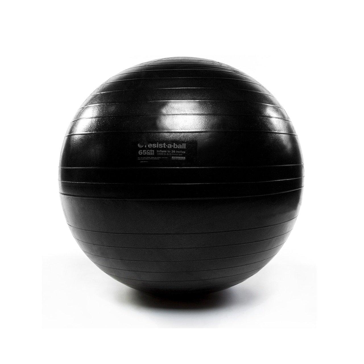 Peak Pilates Resist-A-Ball 65cm Pro Charcoal