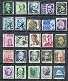 Prominent Americans 25 Mint, Never-hinged from 1965 series