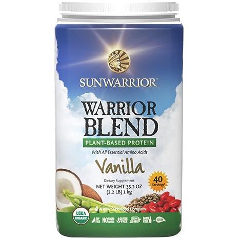 Sunwarrior Warrior Blend Vanille, 1er Pack (1 x 1 kg): Amazon.de ...