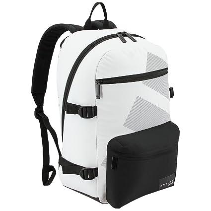 4c22037b934 Amazon.com: adidas Originals EQT National Backpack, Neo White/Black ...