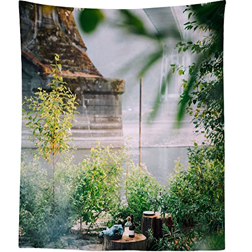 Cheap  Westlake Art Wall Hanging Tapestry - Fire Cooking - Photography Home Decor..