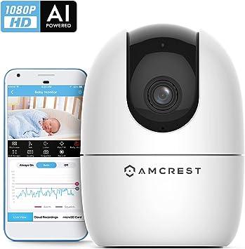 HD Smart Home Security Wi-Fi IP Camera 2-Way Talk Night Vision Cam Baby Monitor
