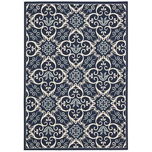 Nourison Caribbean CRB02 Rectangle 3 Inches product image