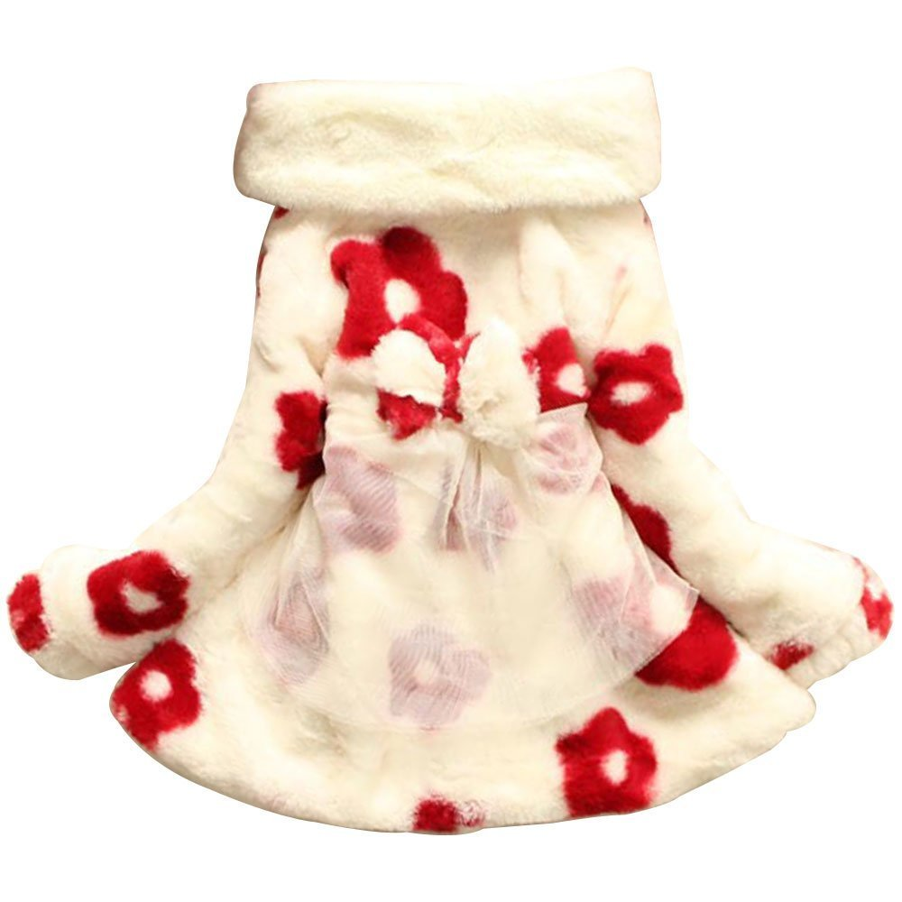 Ancia Baby Girls Toddlers Kids Winter Fall Jacket Coat Outerwear Snowsuit