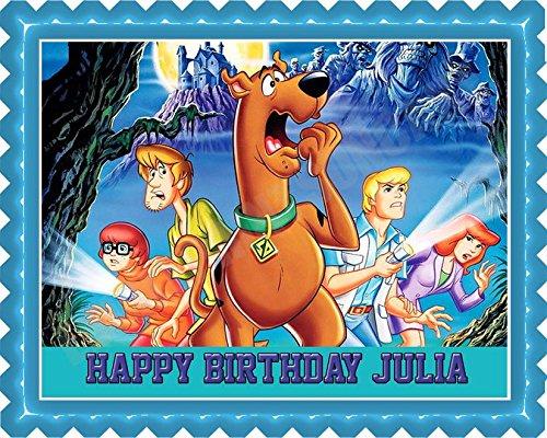 Scooby-Doo (Nr2) - Edible Cake Topper - 7.5