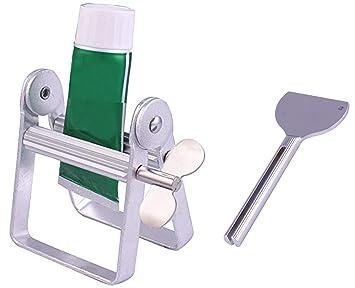 Kit exprimidor de tubos metálico grande y minillave metálica rodillo para tubos: Amazon.es: Hogar