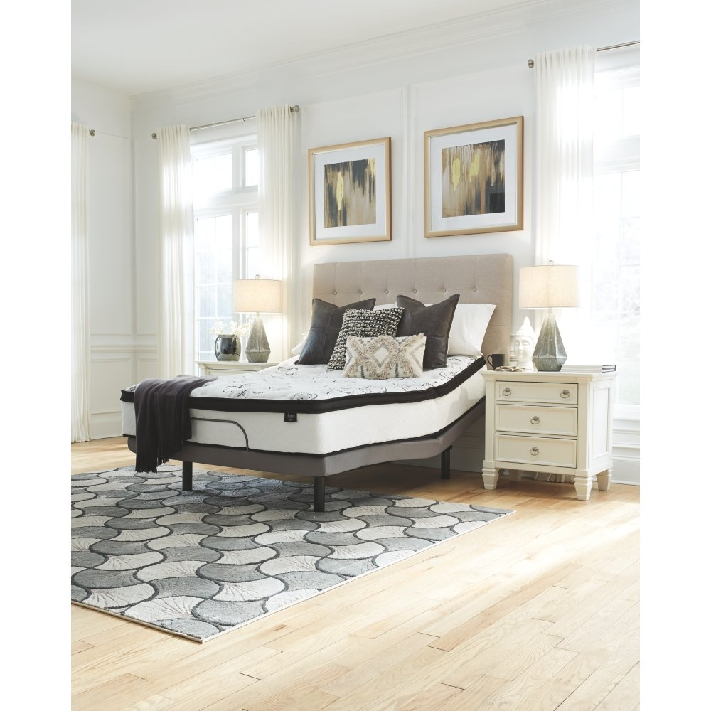 Ashley Furniture Signature Design - 12 Inch Chime Express Hybrid Innerspring - Firm Mattress - Bed in a Box - Queen - White by Signature Design by Ashley (Image #6)