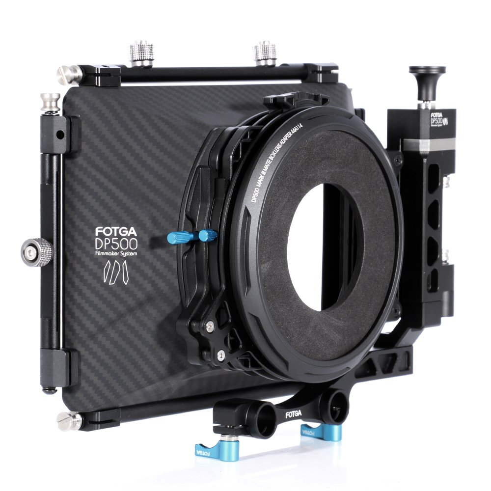 Fotga DP500 III DSLR Swing Away Matte Box + Sunshade Board +Filter Holder + 15mm Rod Adapter for Canon 5D3 BMPCC Sony A7R A7S Panasonic GH3 GH4 GH5 Camera by Fotoplaza (Image #3)