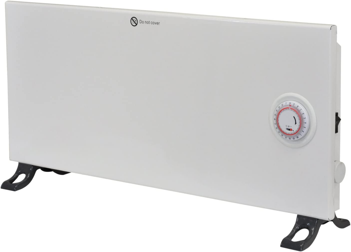 Motionperformance Essentials 800 Watts Ultra Slim Panel Convector Panel Heater 24Hr Timer Adjustable Thermostat (Free Standing Or Wall Mounted)