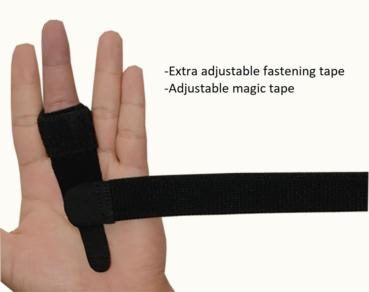 SW Trigger Finger Brace Splint Pain Relief Comfortable Materials Heal Stenosing Tenosynovitis and Softens Injury Symptoms | Adjustable for Pinky,Thumb,Ring,Index, and Middle Finger by SW (Image #6)