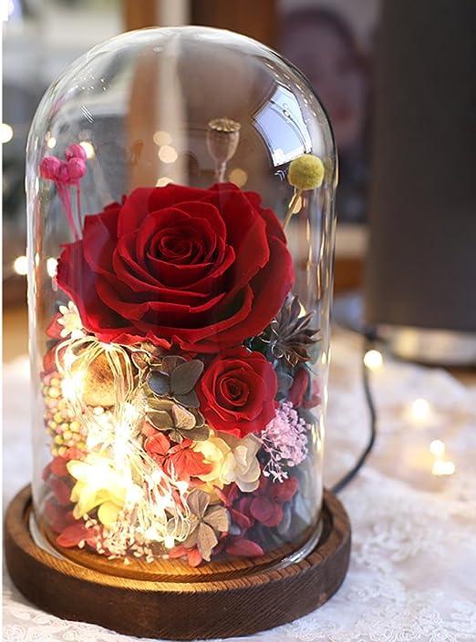 Amazon.com: XJ&DD - Rosa romántica para regalo, nunca se ha ...