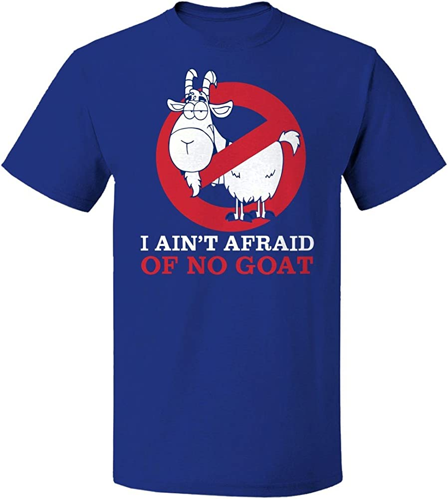 I Aint Afraid of No Goat Funny Sports Animal Graphic Design Hoodie