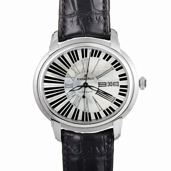 Audemars Piguet millenary automatic-self-wind Mens Reloj 15325bc. OO. d102cr. 01 (Certificado) de segunda mano: Audemars Piguet: Amazon.es: Relojes