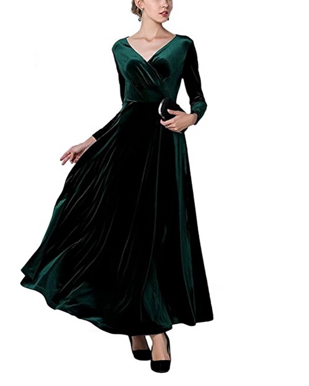 Damen Elegante Samt Kleid Schaljacke Schwangere Umstandskleid ...