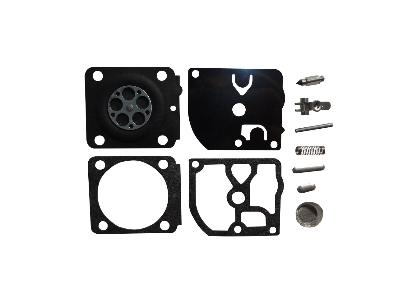 Carburetor Repair/Rebuild Kit Replaces Zama RB-161 for Stihl HS45 FS310 FS55 Trimmer Zama C1Q Carburetor CTS