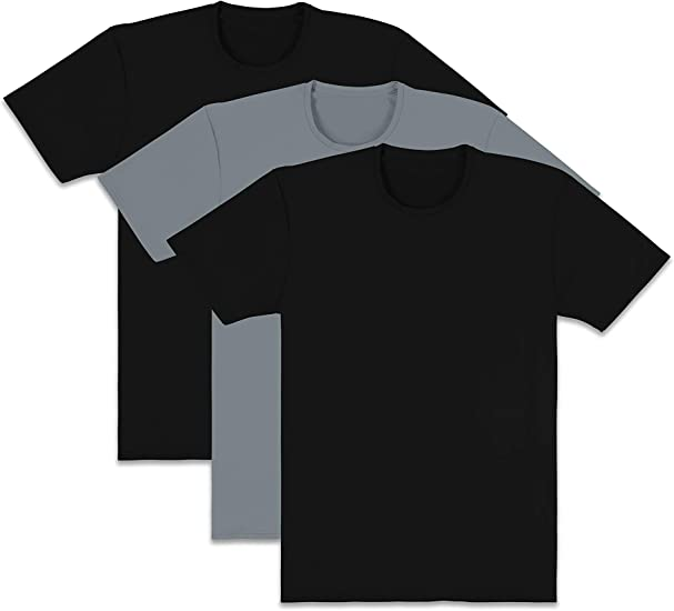 4 Pack Choose SZ//color Fruit of the Loom Men/'s Crew T-Shirt