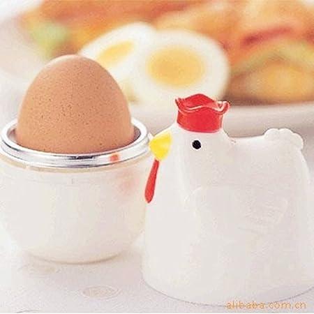 susoki COCEDOR de huevos para microondas - 1 huevo cocina Cocedora ...