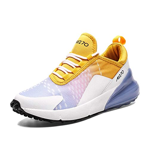 IceUnicorn Herren Damen Sneaker Straßenlaufschuhe Sportschuhe Turnschuhe Outdoor Leichtgewichts Laufschuhe Freizeit Atmungsaktive Fitness Schuhe