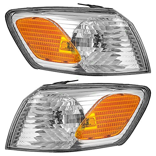 Driver and Passenger Park Signal Corner Marker Lights Lamps Replacement for Toyota 81520-AA020 81510-AA020 AutoAndArt ()