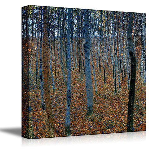 Beech Grove by Gustav Klimt Print Famous Oil Painting Reproduction
