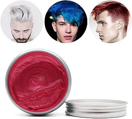 aptoco temporal pelo Color tinte cera suave mate de peluquería pelo barro crema hombres mujeres de pelo profesional Pomades
