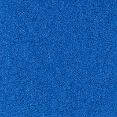 (Ultrasuede HP Solid Regal Blue Fabric by The Yard)