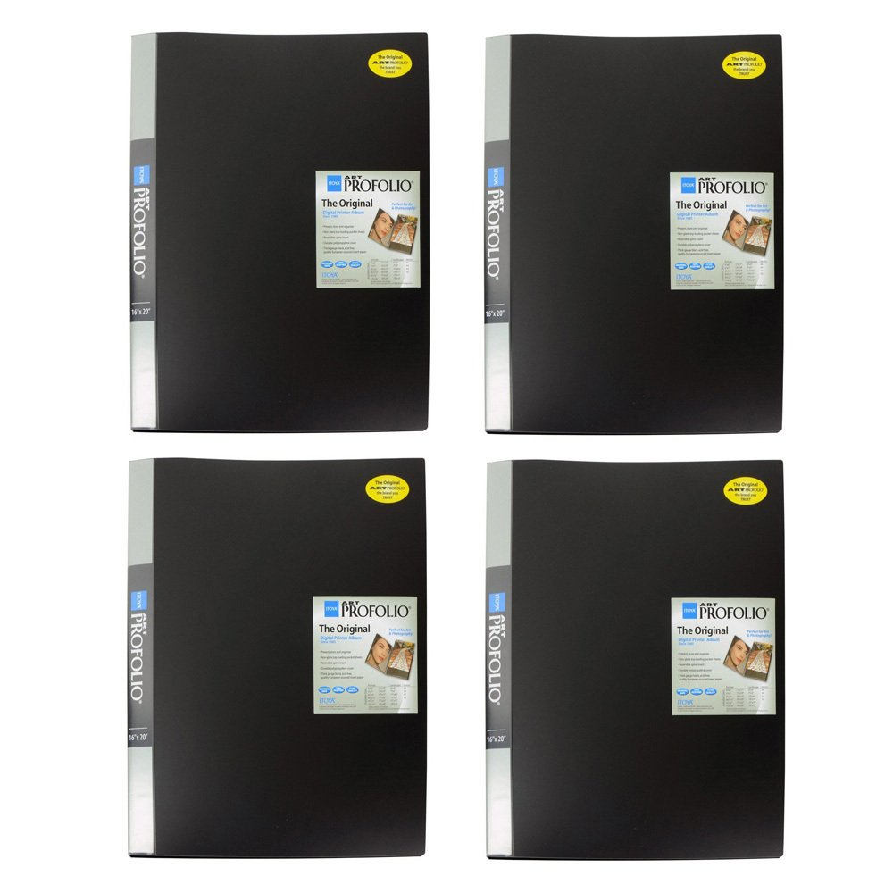 Itoya IA-12-16 Art Profolio 16x20in. Photo 24 Sheet for 48 Pictures (4-Pack) by Itoya of America, Ltd (Image #1)