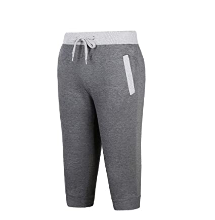 VECDY Hosen Herren Männer Sport Fitness Jogging Elastic Stretchy Bodybuilding Bermuda Sweatpants Sporthosen Stretchhose Freiz