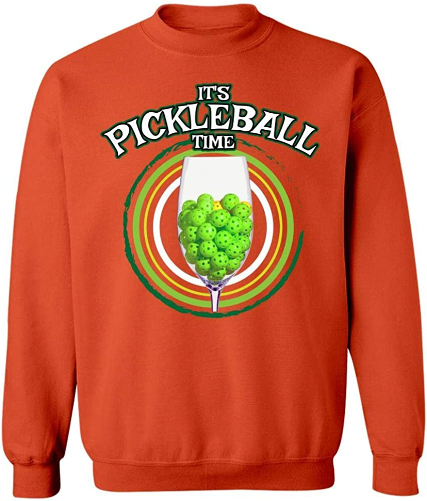 Sweatshirt Kellyww Its Pickleball Time Picklers Dink Player