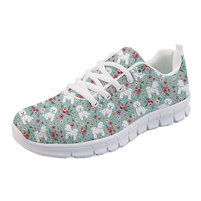 21ae2747ec25c Amazon.com | Coloranimal Spring Summer Running Flat Shoes for Women ...