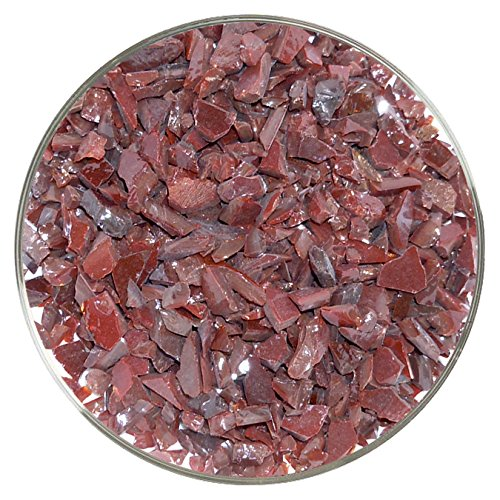 Black Cherry Opalescent Coarse Frit - 96COE - 4oz - Made from System 96 Glass