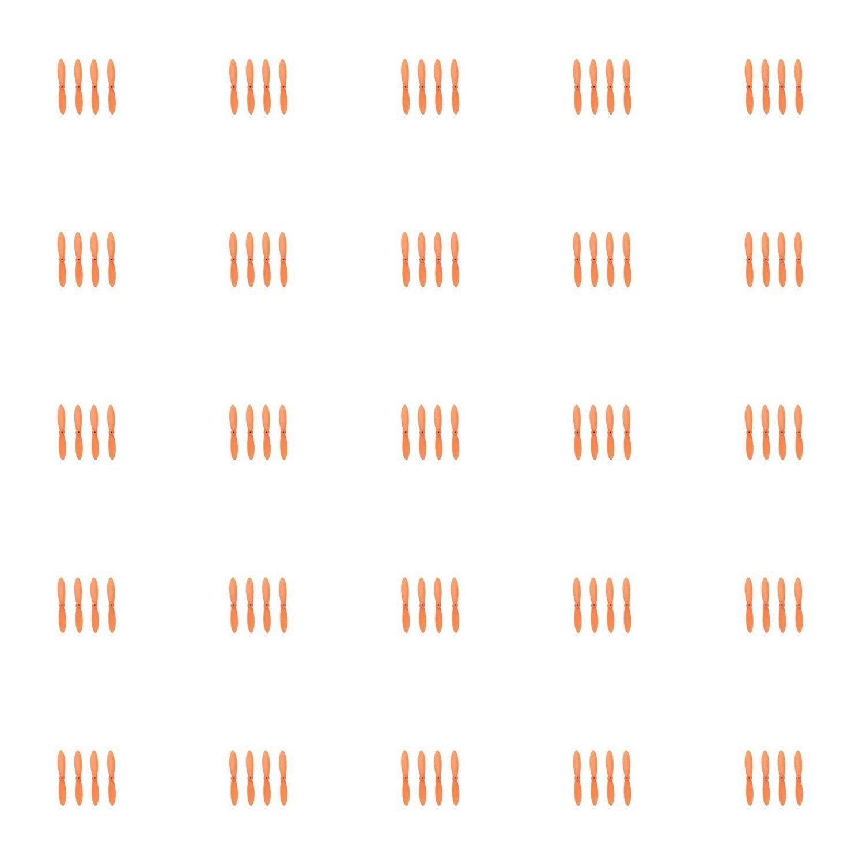 para mayoristas 25 x Quantity of WLtoys V282 All All All Orange Nano Quadcopter Propeller blade Set 32mm Propellers Blades Props Quad Drone parts - FAST FROM Orlando, Florida USA  tienda de ventas outlet