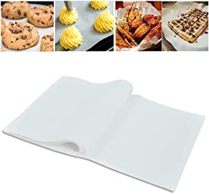 "Lainrrew 120 Pcs Non-Stick Parchment Paper Baking Sheets, Pre-Cut Parchment Paper Liners Non-Toxic Oven Baking Sheets for Cook, Bake, Grill, Pans, Air Fryer, 8 x 12"""