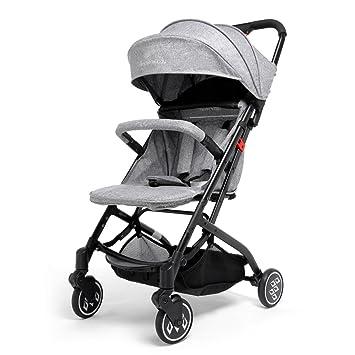 Carrito de Bebé Sistema de Viaje, SKM Plegable Carrito de Bebé Calesa con la Visera Parasol, ...