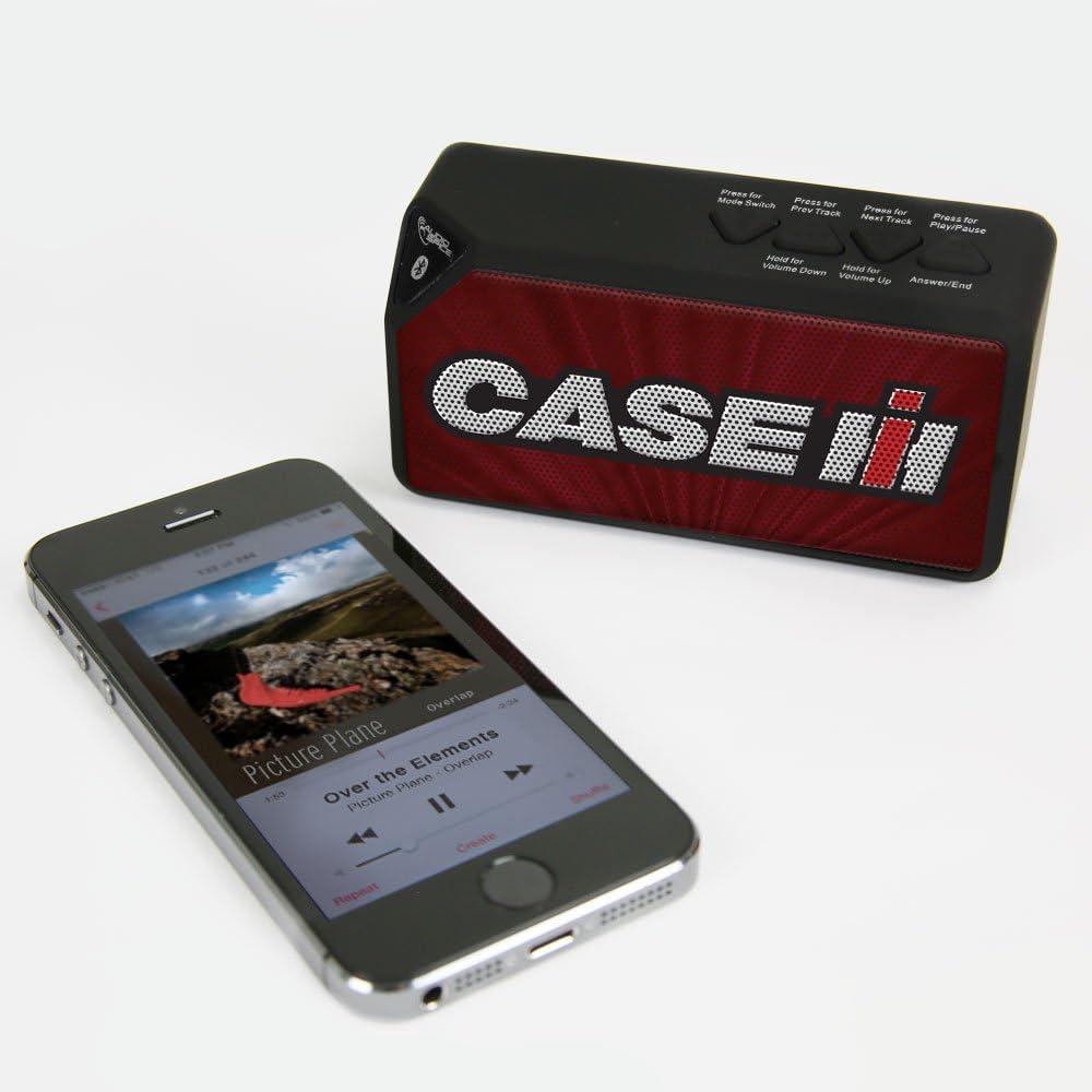 4.25x2.1x1.5 AudioSpice Case IH BX-100 Bluetooth Speaker