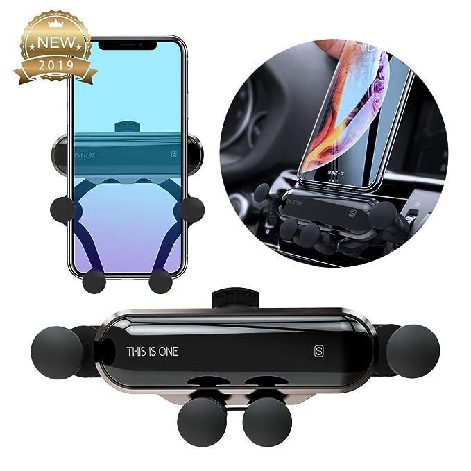 Gravity Auto Sales >> Aovaza Car Phone Holder Gravity Linkage Car Mount Cradle