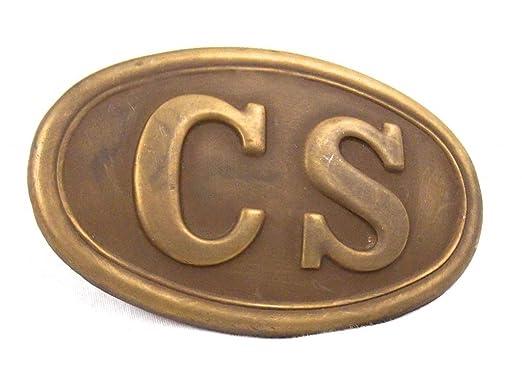 Boucle de ceinture - relief Antique Confederate State Rebel Sudiste USA  Civil War 0d91379fa63
