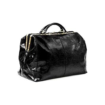Katana - Sac de voyage Cuir de vachette - Noir - Taille 60 cm - Couleur Noir lHK13bBNf
