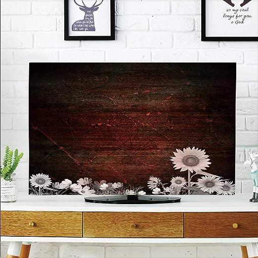 Protege tu televisor Antiguo Estilo Americano rústico de Madera y ...