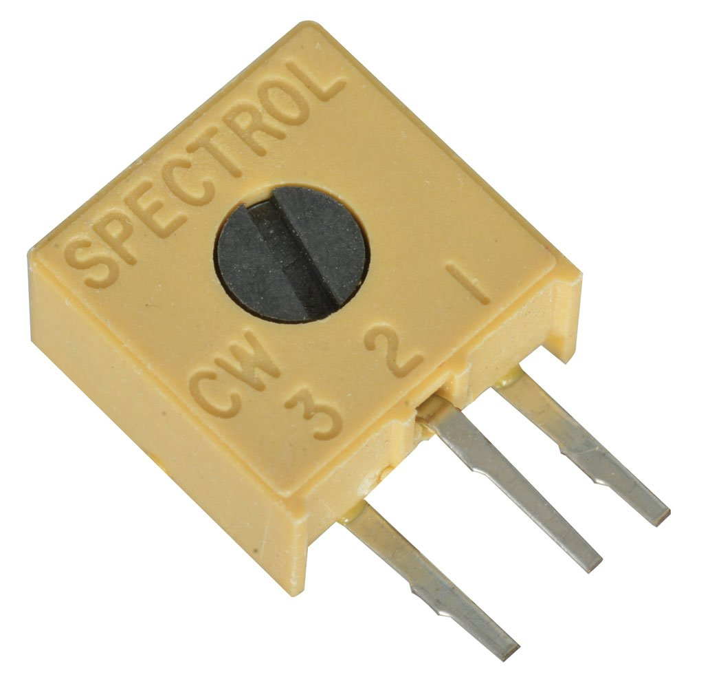 0.375 L x 0.375 W x 0.19 D Pack of 5 Pack of 5 0.375 L x 0.375 W x 0.19 D Spectrol 3386X-1-503//63X503 Square Cermet Trimmer Potentiometer Spectrol//Vishay Corporation 50K Ohm