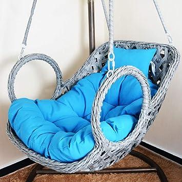 Amazon.com: LOVEU - Hamaca colgante para silla de huevo sin ...