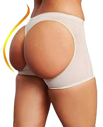 1f8b6145a88 FUT Women Butt Lifter Shaperwear Tummy Control Seamless Panty Invisible  Boyshort