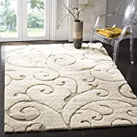 23x4 Ivory Cream Flowers Printed Runner Rug, Modern Fancy Colorful Rich Textures, Indoor Floral Pattern Living Room Rectangle Carpet, Vibrant Color Soft Synthetic, Themed