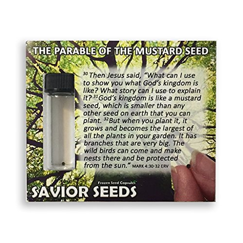 The Parable of the Mustard Seed - Christian Faith Teaching Tool. 10 packs of The Parable of the Mustard Seed for showing and teaching others about the parables of Jesus.